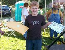 Orion - banjo contest winner