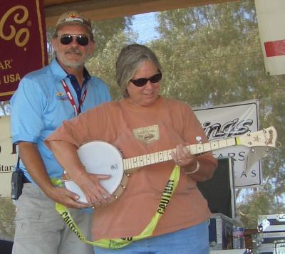 Summergrass winner - banjo